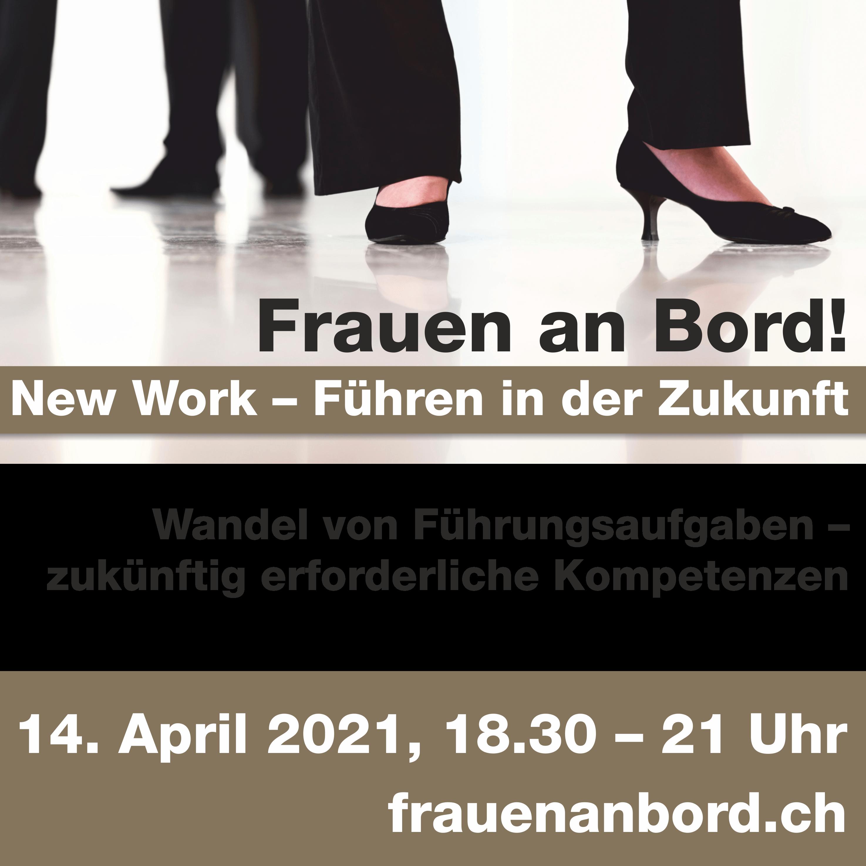 Online-Veranstaltung von SKO, BPW und Juristinnen Schweizer zu New Work: Inspiration und Vielfalt ohne Führung?